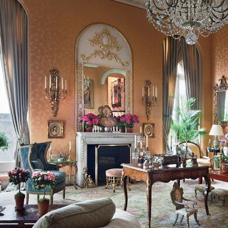A BALLROOM BY BUATTA: AILEEN MEHLE'S NYC APARTMENT