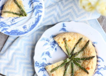 Asparagus Tart on Stuffy Muffy