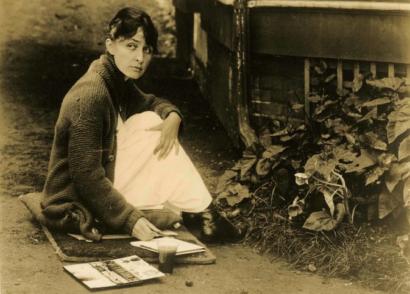 Georgia O'Keeffe at Lake George, Alfred Stieglitz