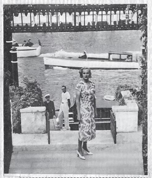 Doris Castlerosse in Venice