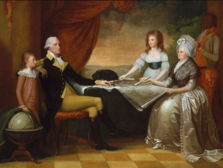 Washington-Family-Portrait