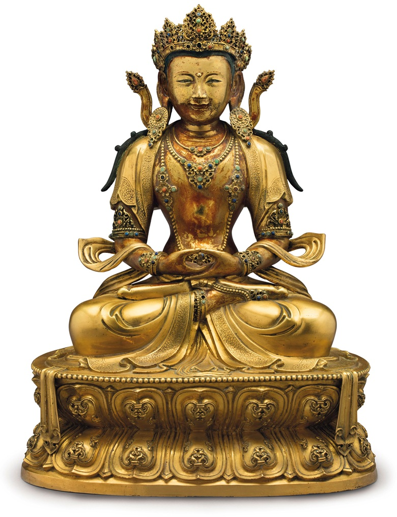 Buddhist God A Highlight from the Christie's Rockefeller Collection Auction