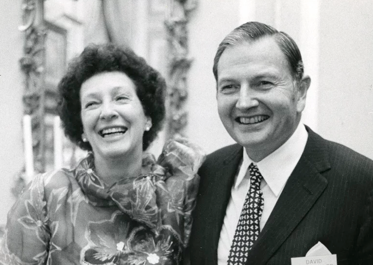 Son David, Jr. says the upcoming auction is 'an extraordinary opportunity for the Peggy and David Rockefeller collection to be sold and the revenue used to support the important institutions that they supported in their lifetimes.'