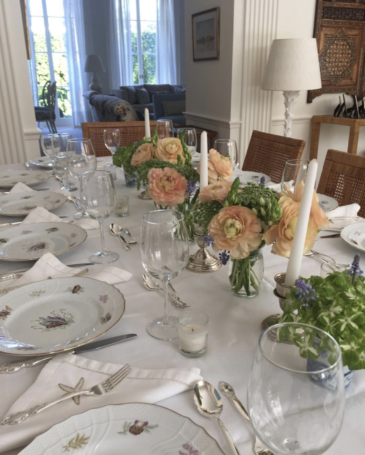 Haute Hostess: Carol Jankowsky Entertains in Palm Beach