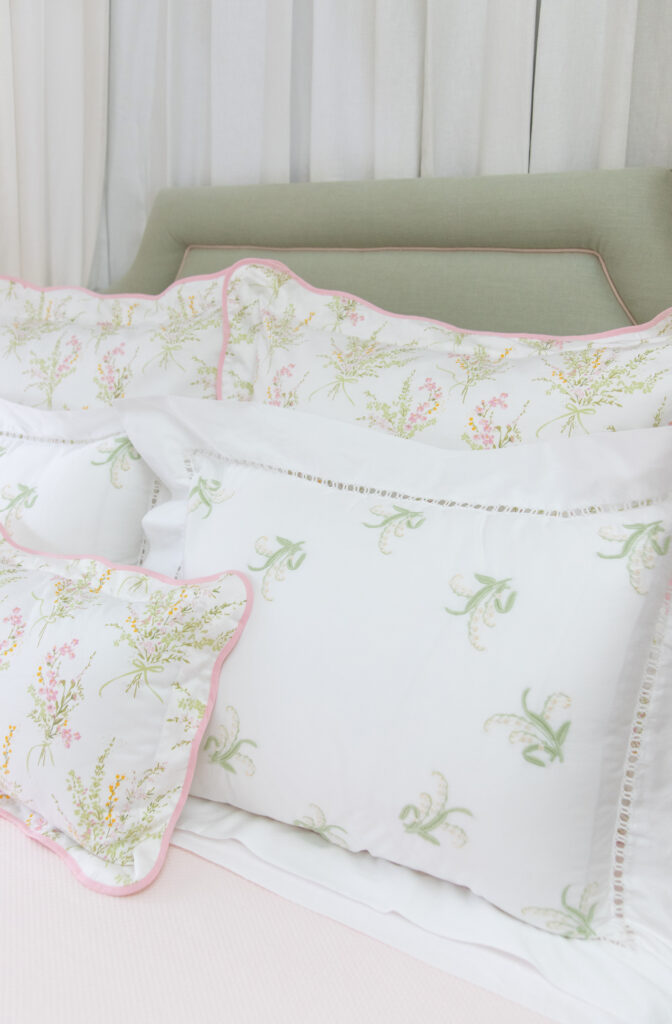 Pink and White Delight: A Classic Nursery Design Turned Big Girl Bedroom